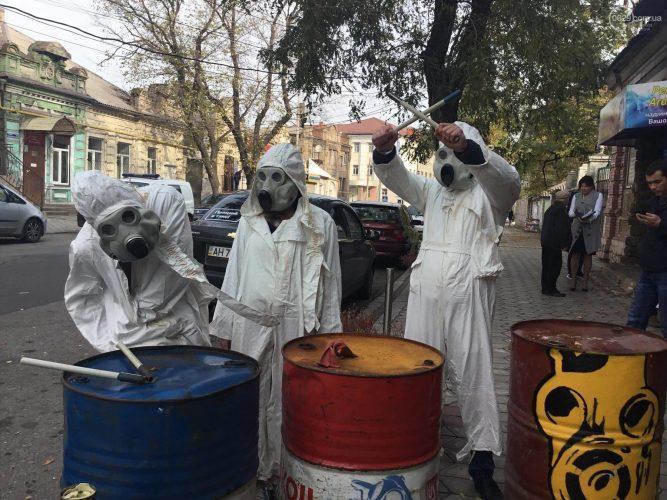 В Маріуполі пройшов флешмоб з захисту Екології