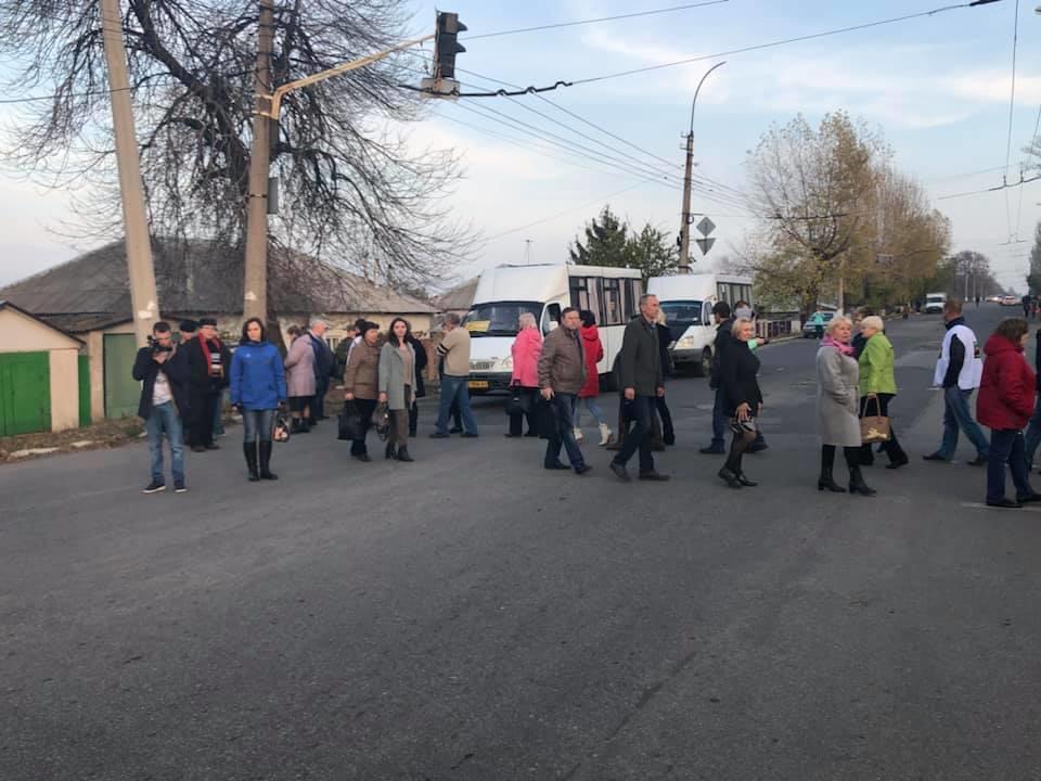 В Лисичанську шахтарі почали страйкувати на дорогах