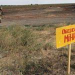 Потенциально заминированные территории на Донбассе собрали на одной карте
