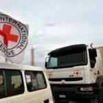 """Червоний хрест та ООН передали на окуповані території більше 54 тонн """"гуманітарки"""""""