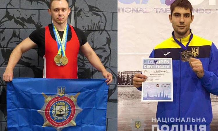 Полицейские из Донецкой области победили на международных и всеукраинских соревнованиях по тхэквондо и пауэрлифтингу