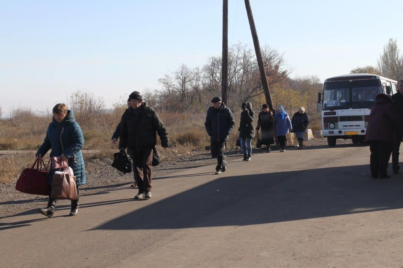 В Бахмут приїхала Людмила Денісова, щоб перевірити роботу КПВВ