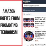 """На Amazon з'явились товари із символікою т.з. """"ЛДНР"""". Українців закликають блокувати ці товари"""