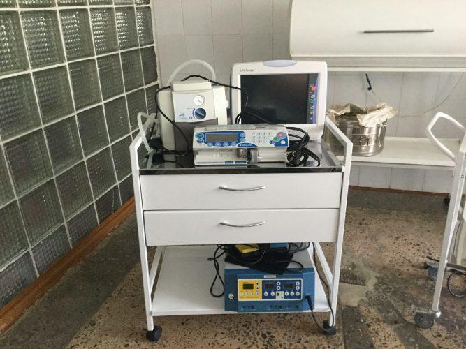 В Курахівську міську лікарню купили нове реанімаційне обладнання