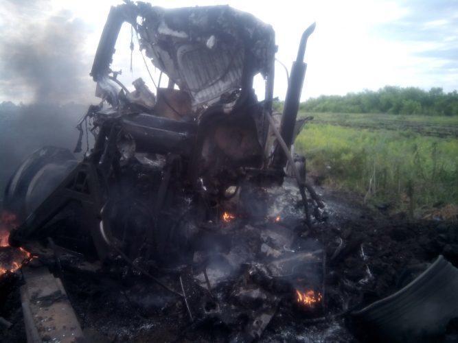 На Луганщині вибухнув на міні трактор