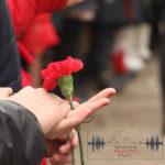 В Бахмуті вшанували пам'ять загиблих від обстрілу 4 роки тому