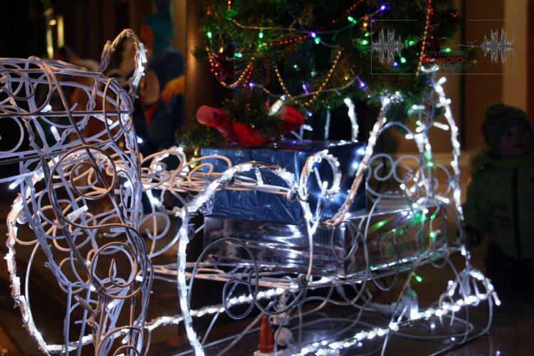 В Бахмуті засяяла новорічна ялинка