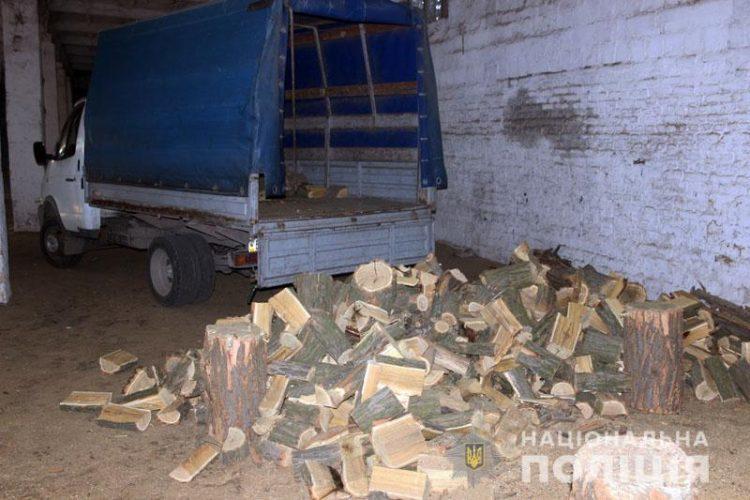 за знищення лісу на Донеччині затримали 7 людей