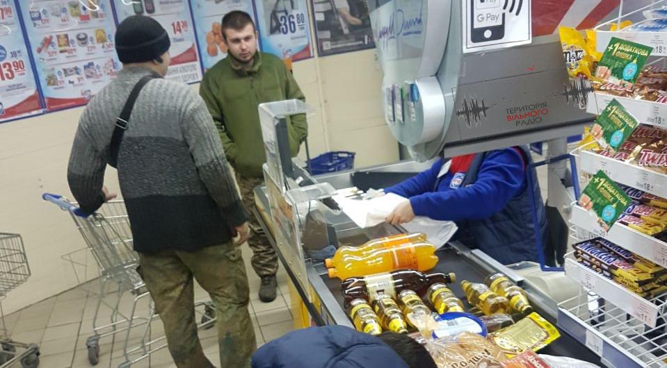 В Бахмуті продають алкоголь військовим