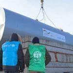 В еще одном прифронтовом поселке благотворители восстановили регулярное водоснабжение