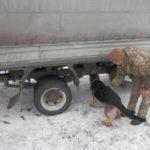 """Через КПВВ """"Майорское"""" в сторону Бахмута пытались провезти взрывчатку"""