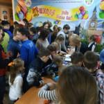 У Торецьку школярі заробили грошей та привітали з Різдвом сиріт та літніх людей