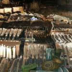 В Константиновке мужчина прятал в гараже огромный арсенал боеприпасов