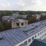 Суд оштрафував підрядника, який залишив одну із шкіл Донеччини  на зиму без ремонту та даху