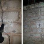 В Бахмутской школе №12 под утеплением прячут не отремонтированные трещины в стенах (ФОТО)
