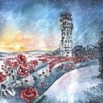 В Україні вшановують пам'ять загиблих кіборгів (ФОТО)