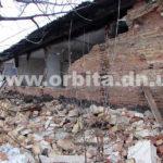 В Донецкой области жилой дом признали аварийным и выселили жителей