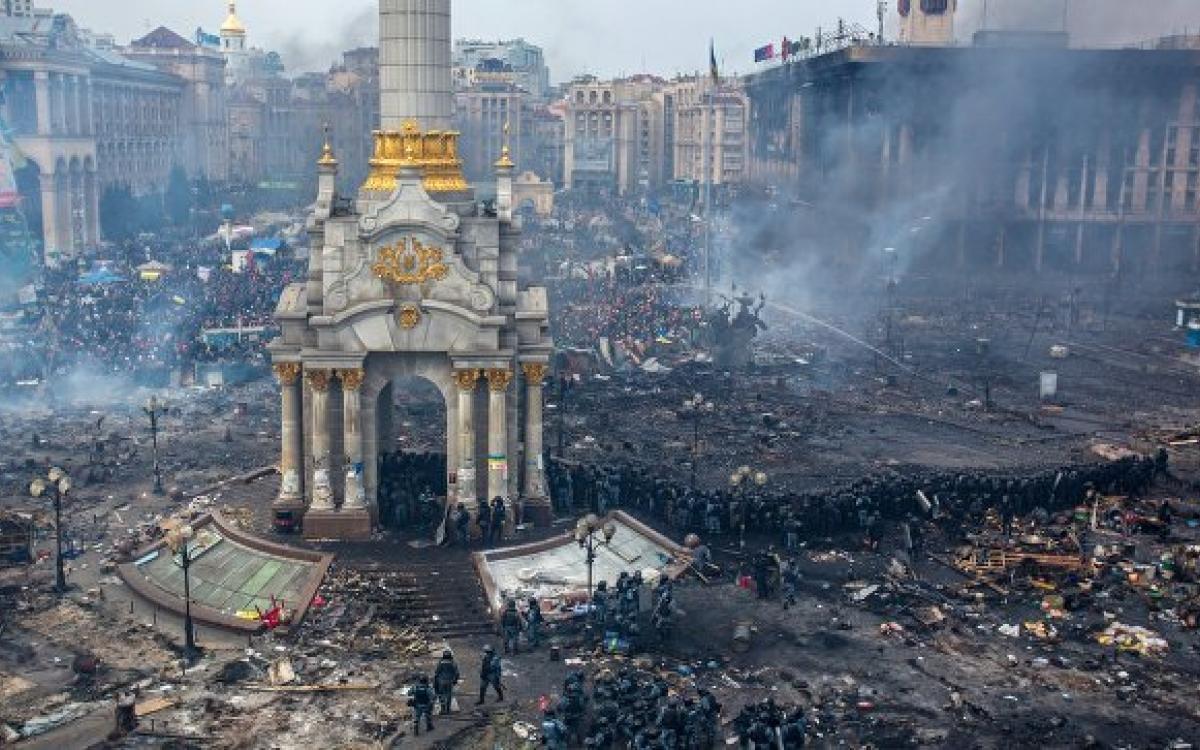 Річниця штурму на Майдані в Києві