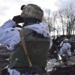 Бойовики продовжують гатити з мінометів по позиціях ЗСУ. Один військовий поранений, — Штаб ООС