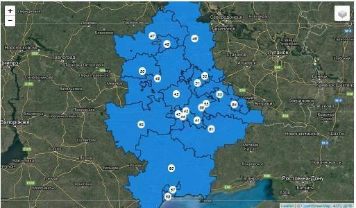 Де проголосувати на Донбасі