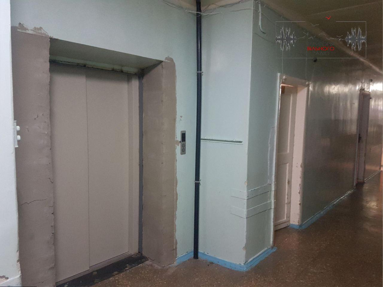 В Бахмуті не працює ліфт в лікарні