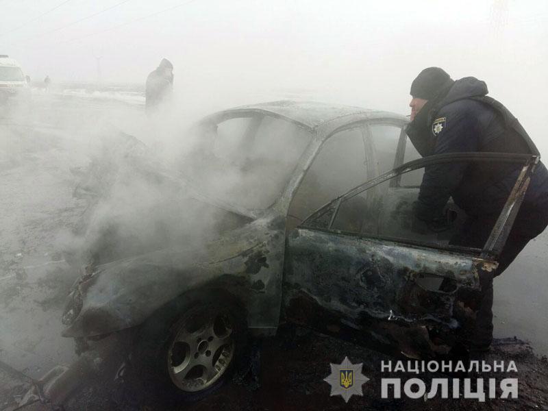 У Мар'їнці сталося ДТП. П'ятеро людей загинули