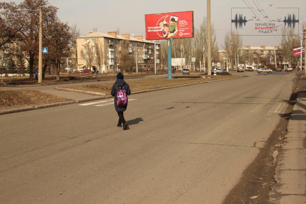 В Бахмуті Донецької області майже немає розмітки