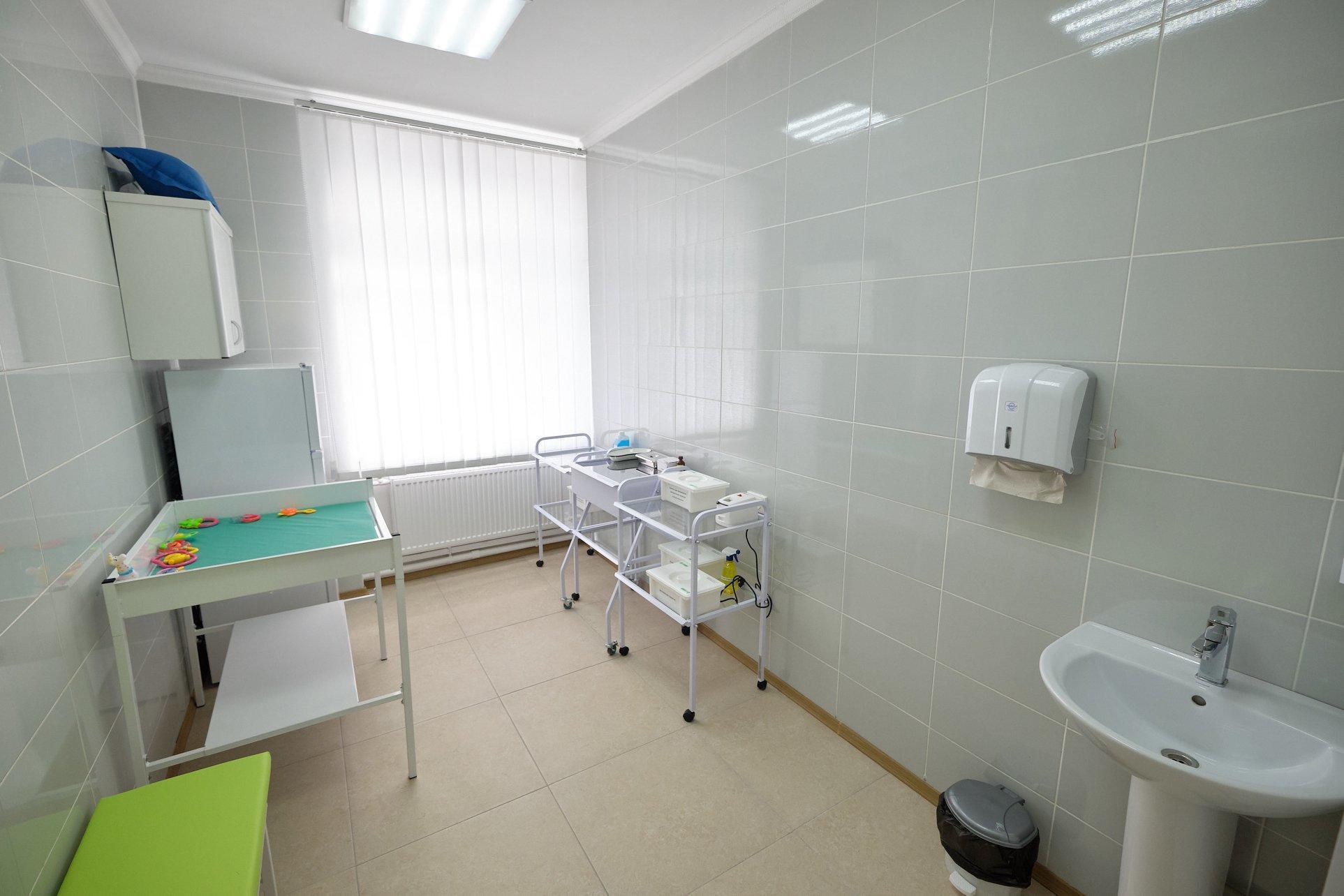 В Селидовом отремонттировали амбулаторию