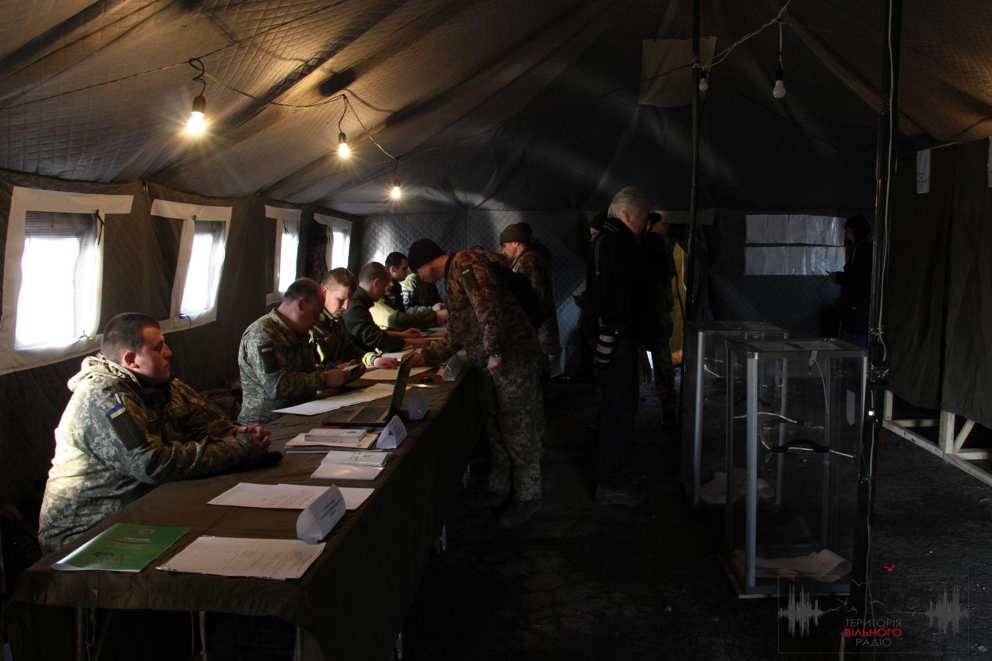 Як голосують військові у Зайцевому