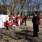 Волонтери Червоного Хреста України в Бахмуті відзначили 101 річницю організації