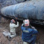 """Ремонтная бригада """"Воды Донбасса"""", которая попала под обстрел 12 апреля, отремонтировала водопровод"""