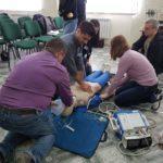 Як бахмутські лікарі навчаються екстрено реанімувати людину за міжнародними стандартами (Репортаж)