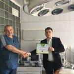 В Кураховскую горбольницу купили новое реанимационное оборудование (ФОТО)