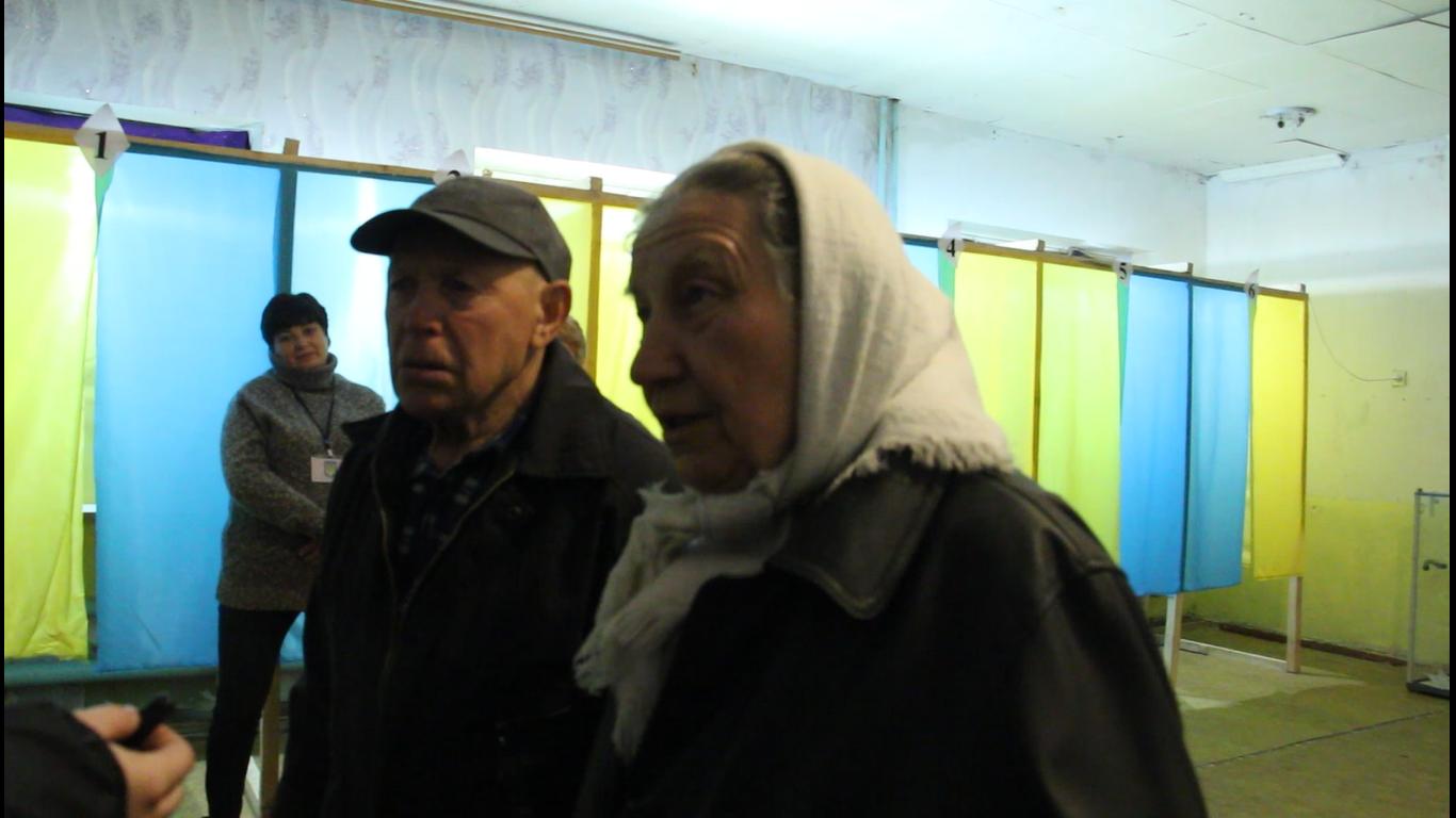 голосування на виборах в ООС, голосування в Зайцевому, голосування на Донбасі