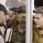 Надію Савченко та Володимира Рубана звільнили з-під варти