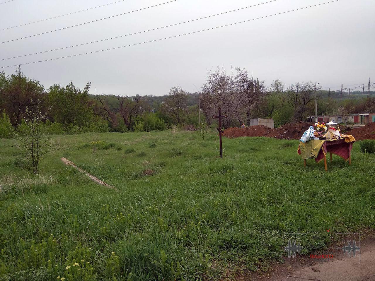 В Бахмуті освятили землю під перший храм Київського патріархату