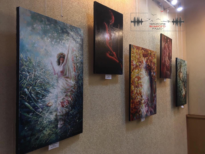 В Бахмуті відкрилась виставка художника-імпресіоніста з Донбасу
