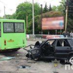 На Донеччині у ДТП загинув військовий. Ще один отримав важкі травми (ФОТО)