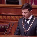 Владимир Зеленский официально получил удостоверение шестого президента Украины