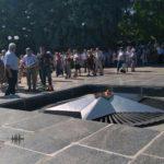 В Бахмуті вшановували пам'ять жертв війни