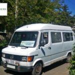 Благодійники запустили безкоштовний автобус від прифронтового села Донеччини до райцентру