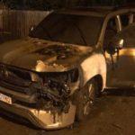 На Донеччині спалили автомобіль голови райради (ФОТО)