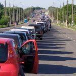 На КПВВ бойовиків утворились черги на кілька сотень авто