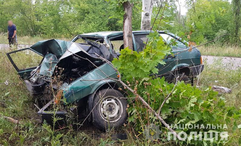 Смертельная авария на Донетчине: легковушка влетела в дерево (ФОТО) -  Вільне радіо