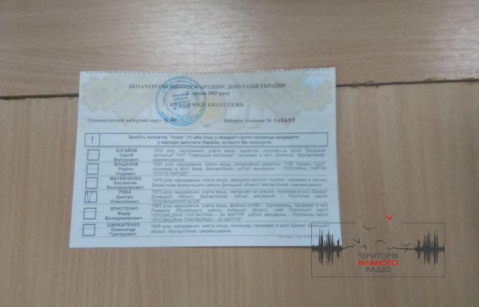 Порушення, нервові зриви та поліція: як порахували бюлетені на ДВК в Бахмуті (ФОТО, ВІДЕО)