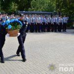 На Донеччині вшанували загиблих поліцейських (ФОТО)