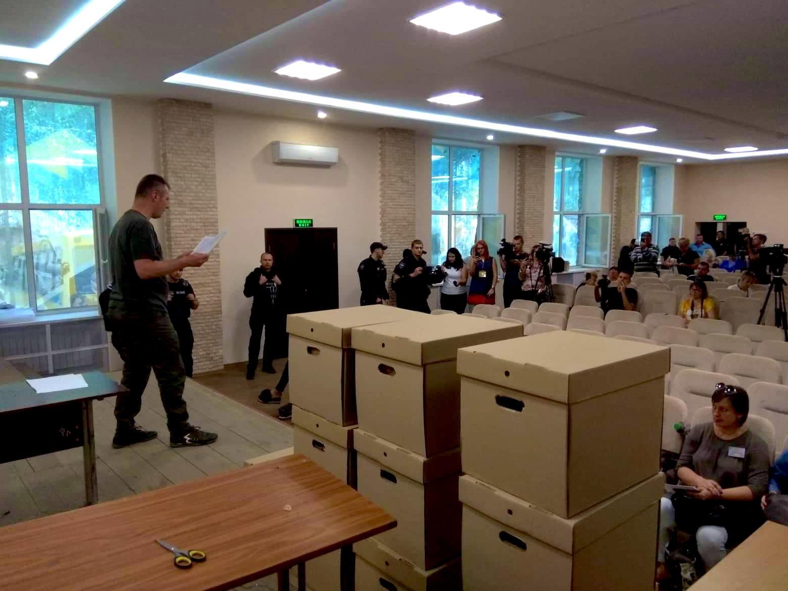 Члени ЦВК самі перерахували голоси ОВК №50