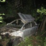 Смертельное ДТП на Донетчине: Автомобиль вылетел в кювет. Один человек скончался, еще четверо —— в больнице (ФОТО)
