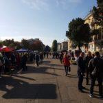 В Бахмуті розганяють ярмарок, про який перед виборами домовився син мера (ФОТО)