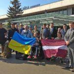 Латвія прийняла на лікування ще 14 українських військових